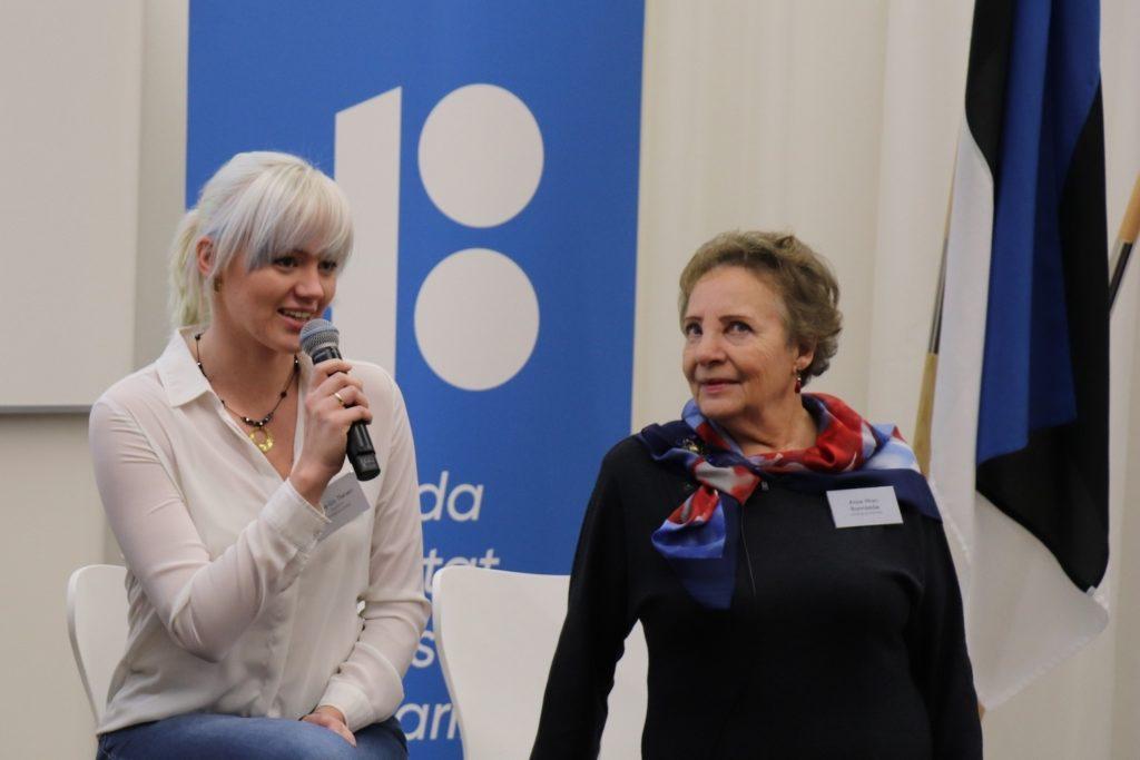 Anne-Liis Theisen ja Anne-Mari Rannamäe