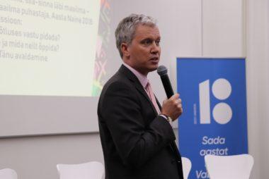 Kõneleb Majandus- ja Kommunikatsiooniministeeriumi majandusarengu asekantsler Viljar Lubi