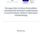 Euroopa Liidu struktuurivahenditest rahastatavate meetmete analüüsimine ja seoste loomine võrdsete võimaluste edendamisega
