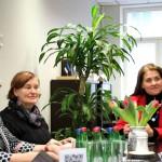 ENUT naisettevõtluse toetamise võrgustiku esindajate kohtumine ettevõtlusministriga