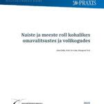 Praxise uuring: naiste ja meeste roll kohalikes omavalitsustes ja volikogudes