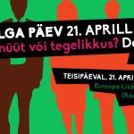 21. aprill: Võrdse Palga päeva debatti juhib Mihkel Raud