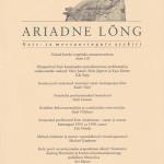 Ariadne Lõng 2001