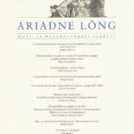 Ilmunud on uus Ariadne Lõnga number
