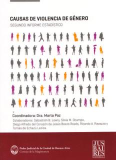 Causas de violencia de género : segundo informe estadístico