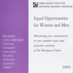 Equal Opportunities for Women and Men