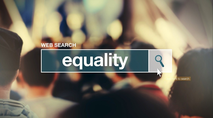 Equality - web search bar glossary term  in internet glossary.