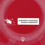 Euroopa puuetega naiste manifest